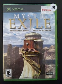 Myst 3: Exile for XBOX  Vaughan, L4L