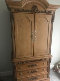 brown wooden cabinet with drawer Denham Springs, 70726