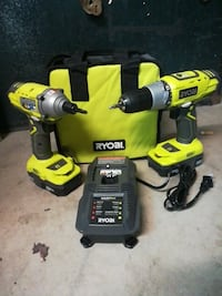 Drill and driver / impact driver set