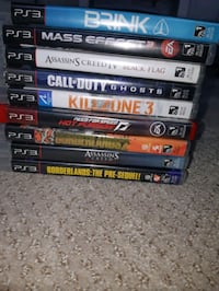 Ps3 games  Langley City, V2Y 1X6