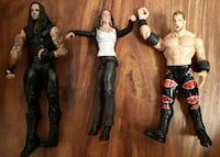"3 Wrestling Figures 6""/7""  Pick-up in Newmarket  Newmarket"