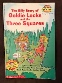 The silly story of goldie locks and the three squares, 1996 paperback, excellent condition  1240 mi