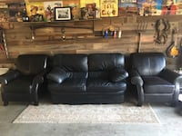 Faux leather chair Tracy, 95377