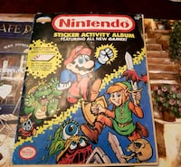 Nintendo sticker activity album Winnipeg, R3M 0E5