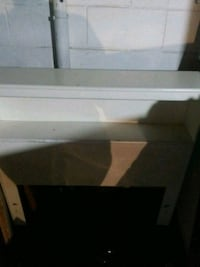 white and brown wooden TV stand Omaha, 68105