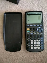 Texas Instruments Ti-83 Plus Calculator  Markham, L6B 1K5