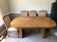 Dining Table, 4 chairs & Side Board Phoenixville, 19460