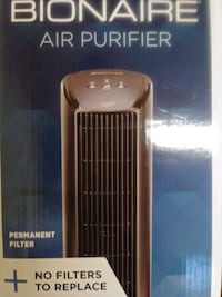Bionaire Air Purifier No Filter to Replace