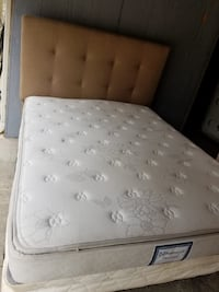 Tufted white and gray floral mattress Brandon, 39042