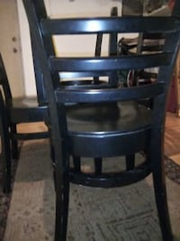 Wood Cafe Chairs (Black) BALTIMORE