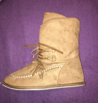unpaired brown leather boot Eastern Passage, B3G 1B3