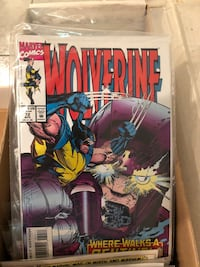 Comics. Marvel Wolverine collection 1-73 Toronto, M5S 2W6