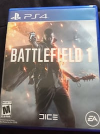 Battlefield 1 PS4 game case Horseheads, 14845