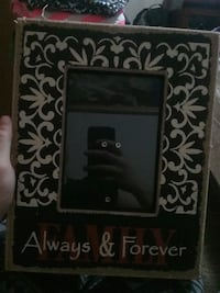 white, brown, and black Always & Forerver photo frame Zumbro Falls, 55991