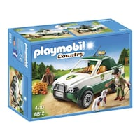 NUEVO. Playmobil country Guardabosque con Pick up Abrera, 08630
