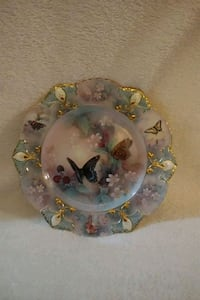 Enchanted wings butterfly plate