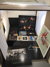 Pink Floyd The Dark Side Of The Moon Immersion DVD Box Set - Missing Scarf Lake Elsinore, 92532