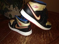 retro black-gold-red air jordan 1 Las Vegas, 89104