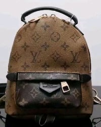 brown Louis Vuitton leather backpack Arlington, 76011