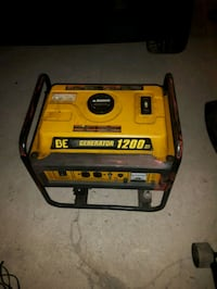 yellow and black Champion portable generator Kitchener, N2A 2Y5
