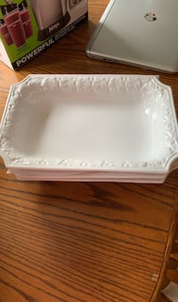 CWC White Grape Leaf Large Serving Platter Made in Italy Manassas, 20110
