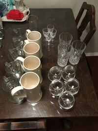 Assorted glassware make an offer on anything you want Vancouver, V6H 1S2