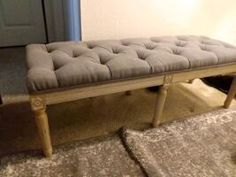 French  provincial style bench