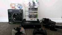 black Xbox 360 console with controller and game ca Edmonton, T6R