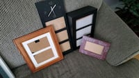Various picture frames and signs priced separately $2 frames $10 signs