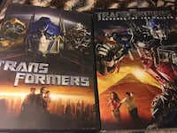 Transformers / transformers revenge of the fallen dvds