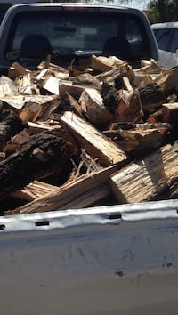 Truck load of pecan firewood El Paso County, TX, USA