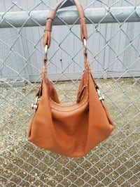 women's brown leather hobo bag 3477 km
