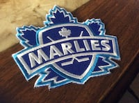 Toronto marlies patch. 3x4. Sick.  Make your own hat or shirt ie marlies gear hard to find and or expensive Mississauga, L5E 1N4