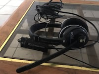black Turtle Beach full-size corded headset