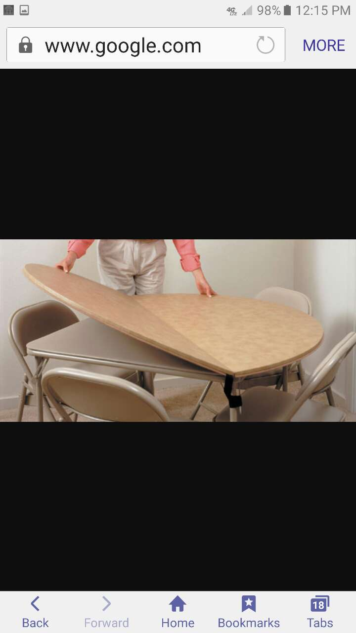 used 66 inch round table extender lazy susab for sale in white rh us letgo com
