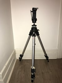 Manfrotto 055 Professional Tripod w/ 222 joystick head