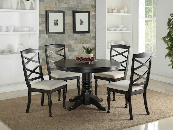 5pc Dining Room Table And Chairs Set