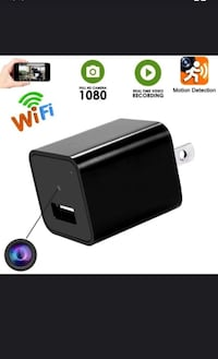 New wifi hidden cam video audio recorder with accessories  Toronto, M9L 2K8