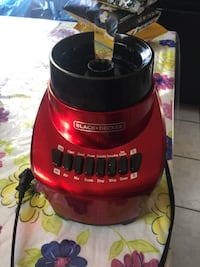 Black and red black + decker blender motor only