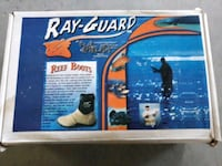 Ray-Guard Reef Boots Mens Size 8 Magnolia, 77355