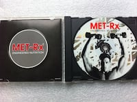 MET-Rx workout disc with case TOMSRIVER