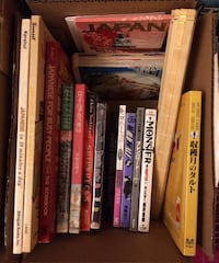 Box of Japanese Language Books, Novels, Manga, and Death Note DVD Walkersville, 21793