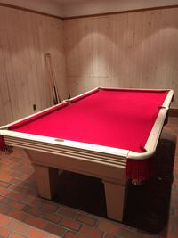 red and brown billiard table Blair, 68008