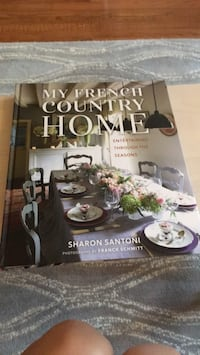 new book: my french country home  Reston, 20191
