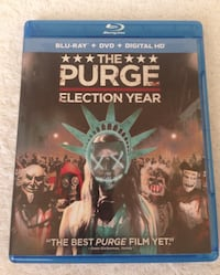 The Purge: Election Year Blu-ray Disc + DVD  Concord, 03301