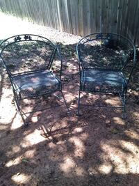 2 Vintage Outdoor Chair's Norman