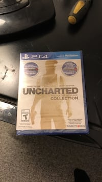 Sony uncharted ps 4 game case