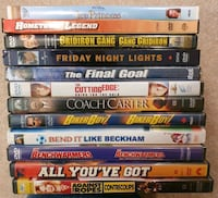 DVD Movie Lot 5 - Sports Calgary, T2Z 4W6