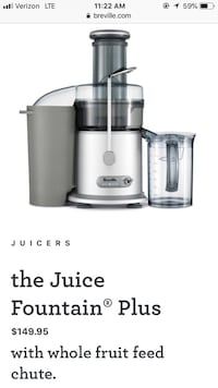 Never been used juicer !!! Washington, 20001