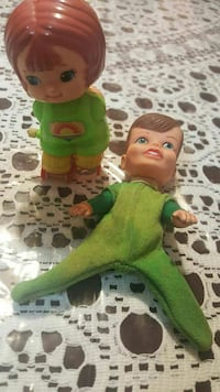 Vintage 1979 Tomy Wind Up Toy 1970 Remco Puppet New York
